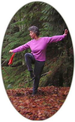 Jan Parker Tai Chi (taiji) sword technique