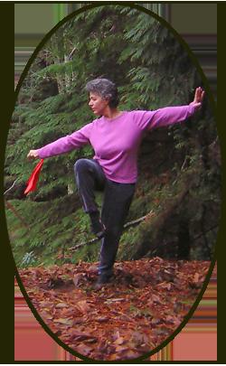 Jan Parker Tai Chi (taiji) sword technique